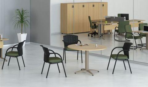 Mesa de Reunião Circular - Giotto M2